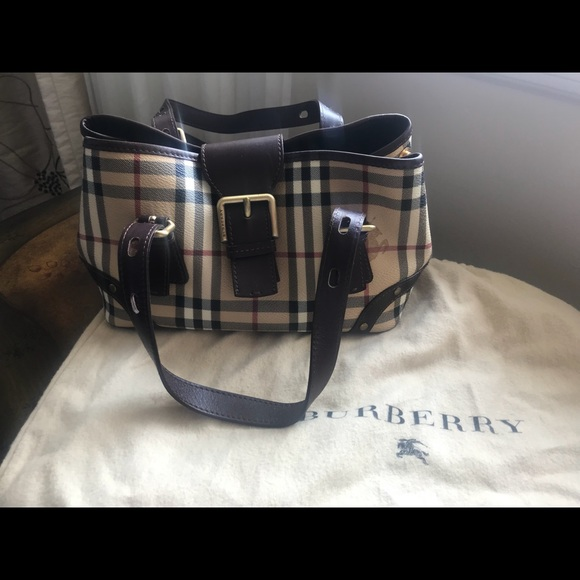 55aca30f4688 Burberry Handbags - Burberry small satchel